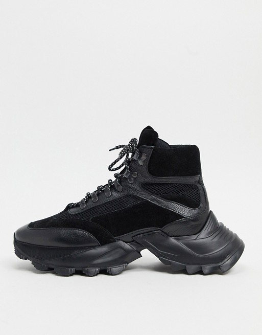 asos high top trainers
