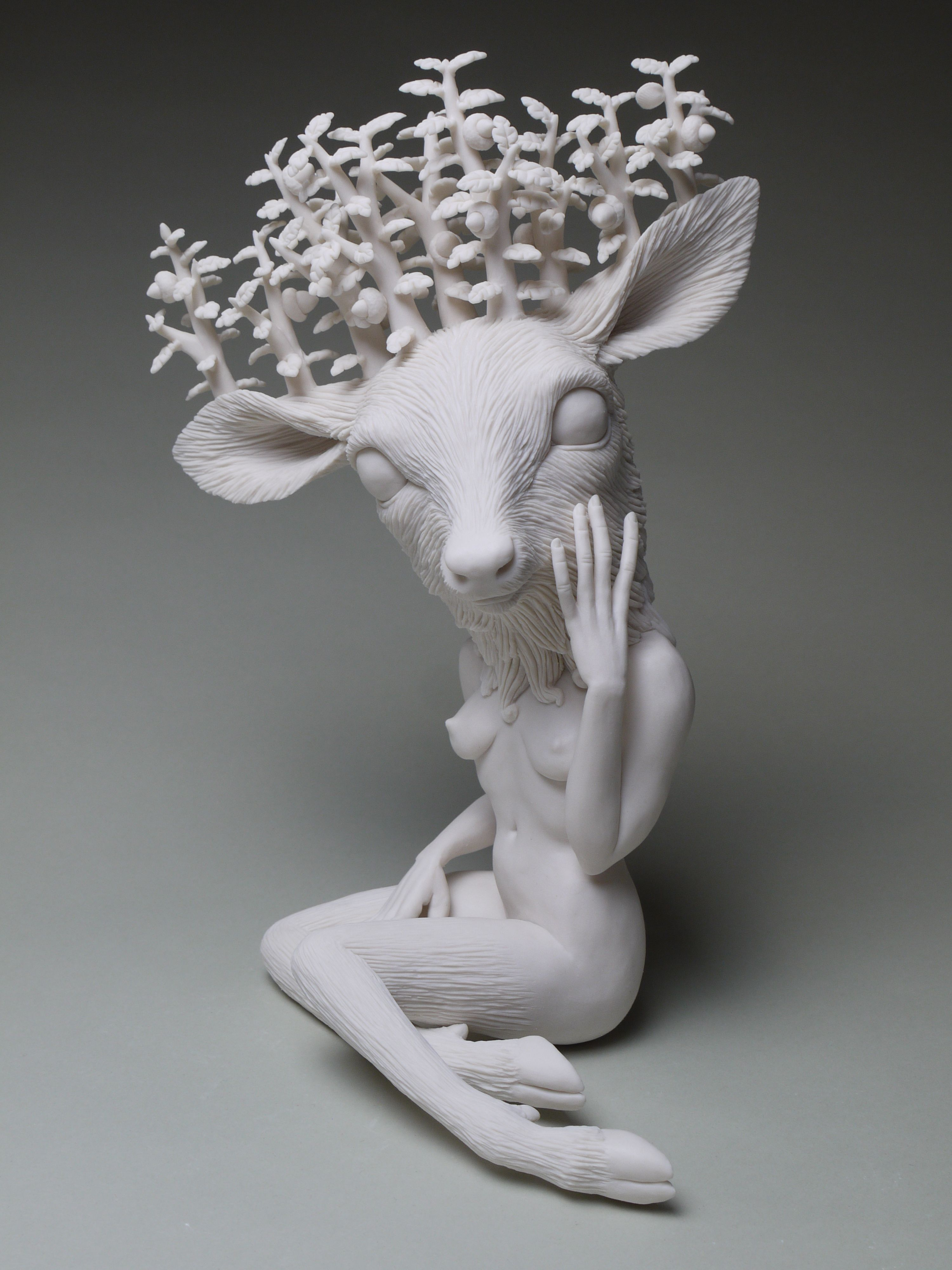 Crystal Morey S New Porcelain Sculptures Draw From 18th Century With Images Sculpture Sculpture Art Art