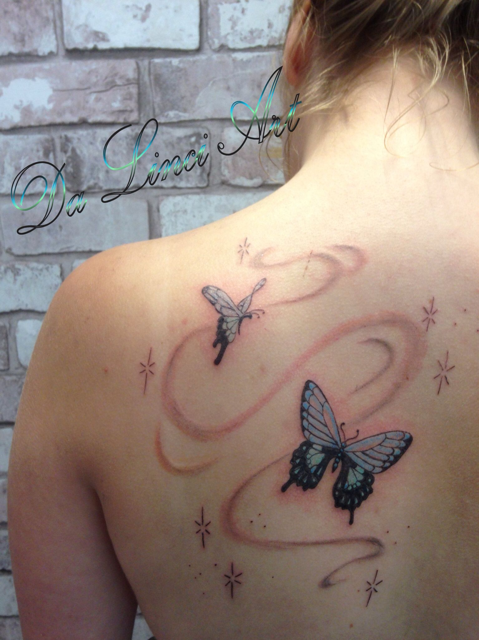 The o jays butterfly tattoos and clothes on pinterest - Butterfly Tattoo Made By Linda Da Linci Zwijndrecht The Netherlands