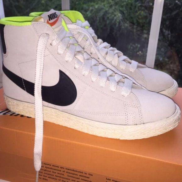 NWT Nike J.Crew Blazer Mid Suede