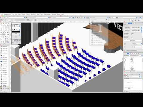 Gsg Vectorworks Spotlight 2016 08 Seating Layouts Vectorworks Layout Design
