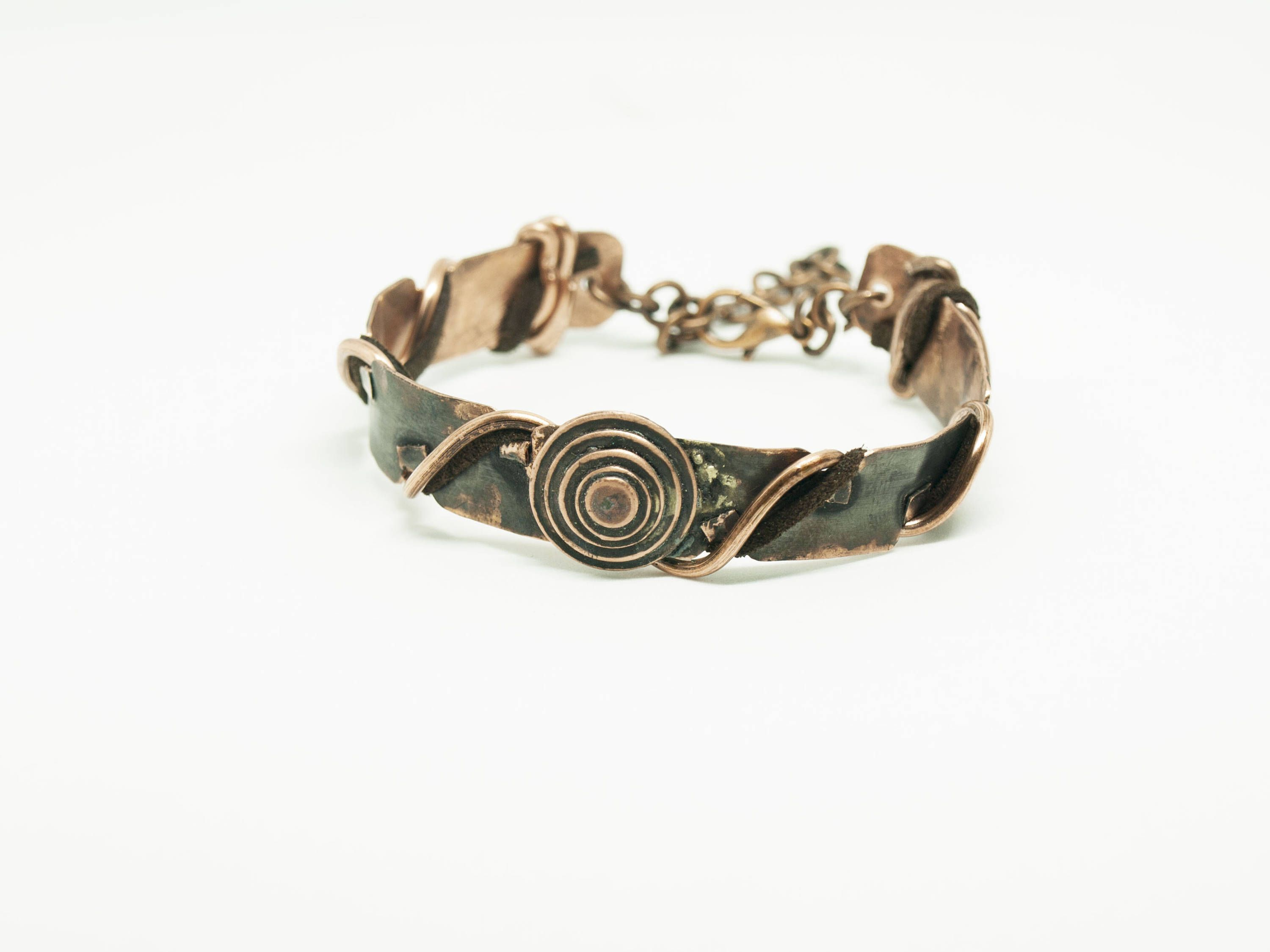 Copper Bracelets Gift For Women Contemporary Jewelry Inspiration Patina Adjule