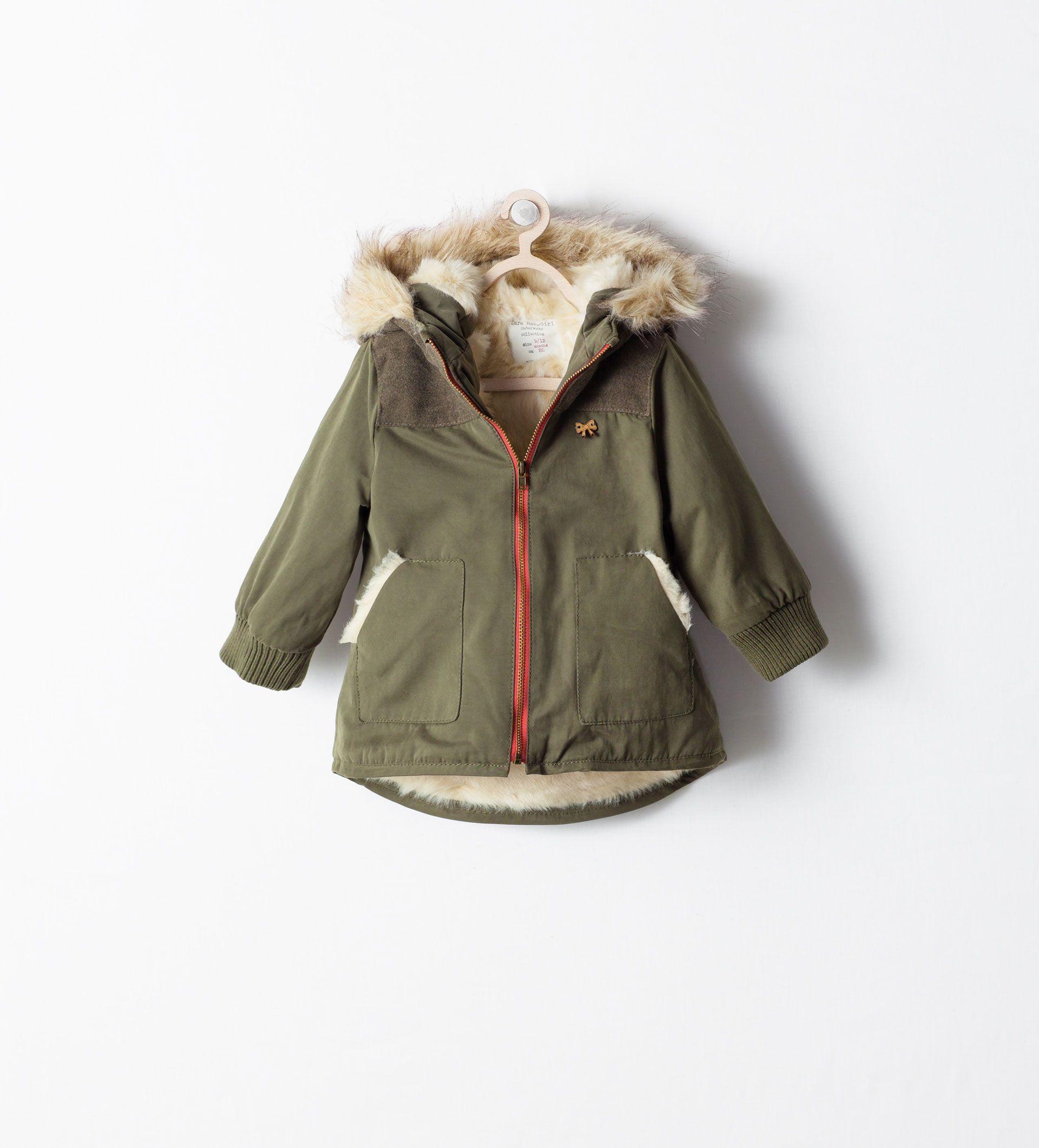 Mantels Baby Meisje 3 Maanden 3 Jaar Kinderen Zara Belgie Madchen Wintermode Baby Winterjacke Zara Kinder