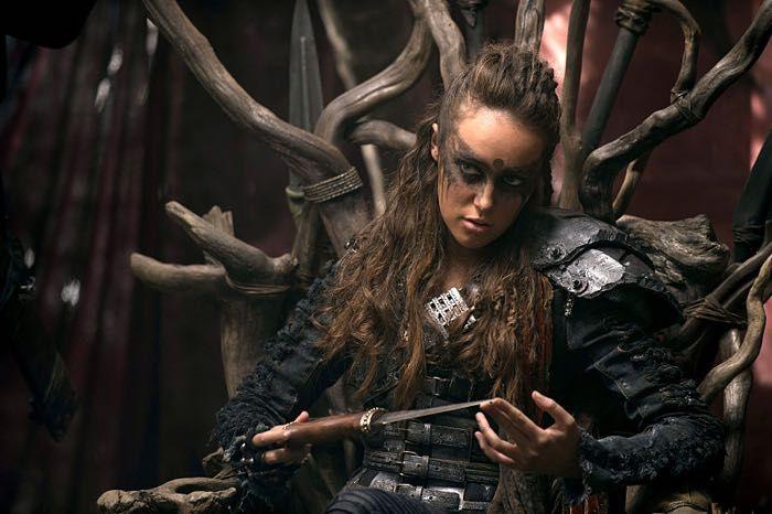 The 100 CW - Long Into An Abyss - Alycia Debnam Carey - Lexa
