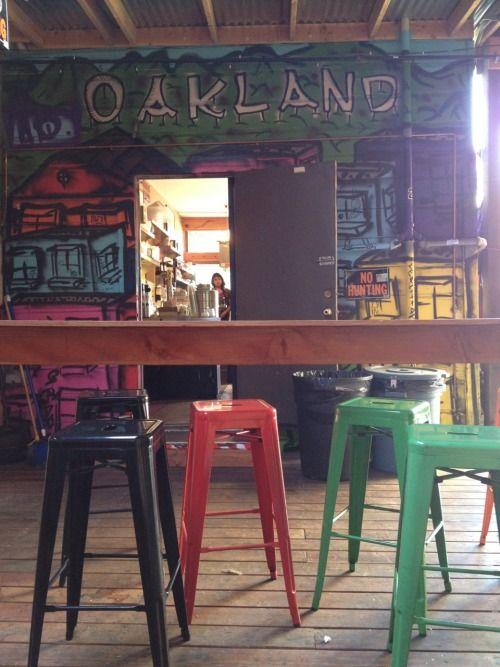 Beautiful Telegraph Beer Garden Oakland, CA