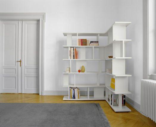 Home Decor Living Room Free Standing Corner Wall Book Shelf