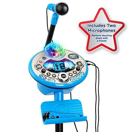 VTech Kidi Star Karaoke System 2 Mics with Mic Stand & AC Adapter Amazon Exclusive #karaokesystem