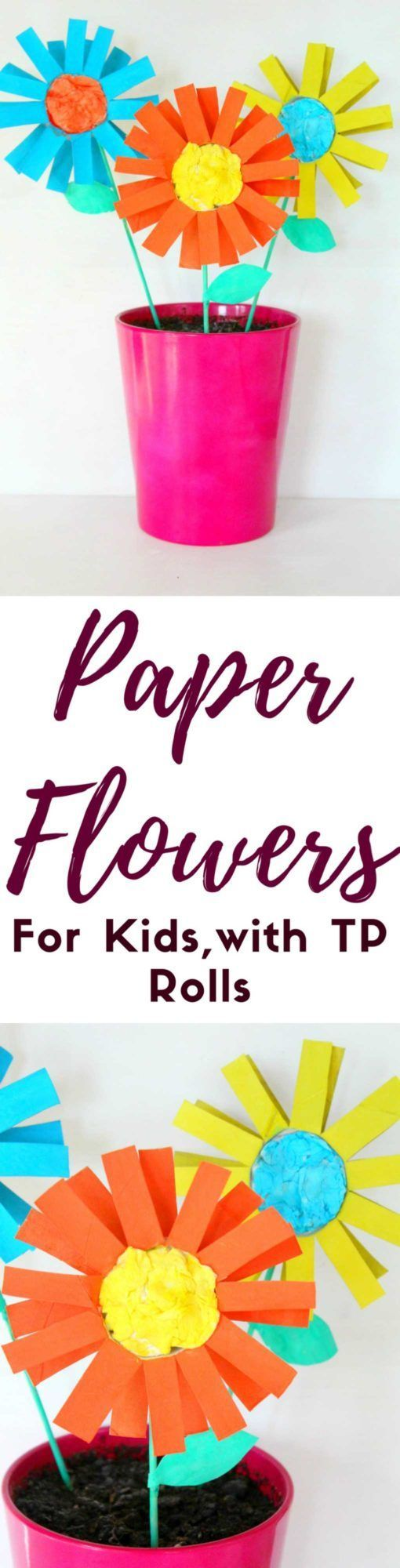 Paper Flowers For Kids Wanna Help Your Kids Develop Their Artistic