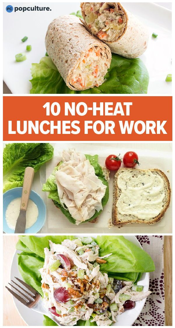 10 No-Heat Lunches To Bring To Work images