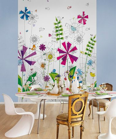 Take a look at this Funky Mural by Brewster Home Fashions on zulily
