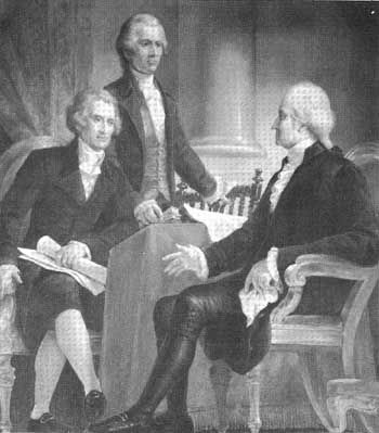 George Washington Alexander Hamilton And Thomas Jefferson The American Trio Of Founding Fath American Revolutionary War American History American Revolution