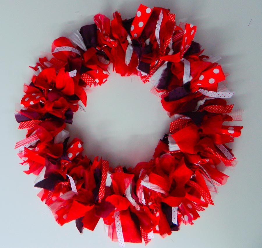 Photo of Corona di Natale: thecolorsoup.com / … #wreath #thecolorsoup #tutorial