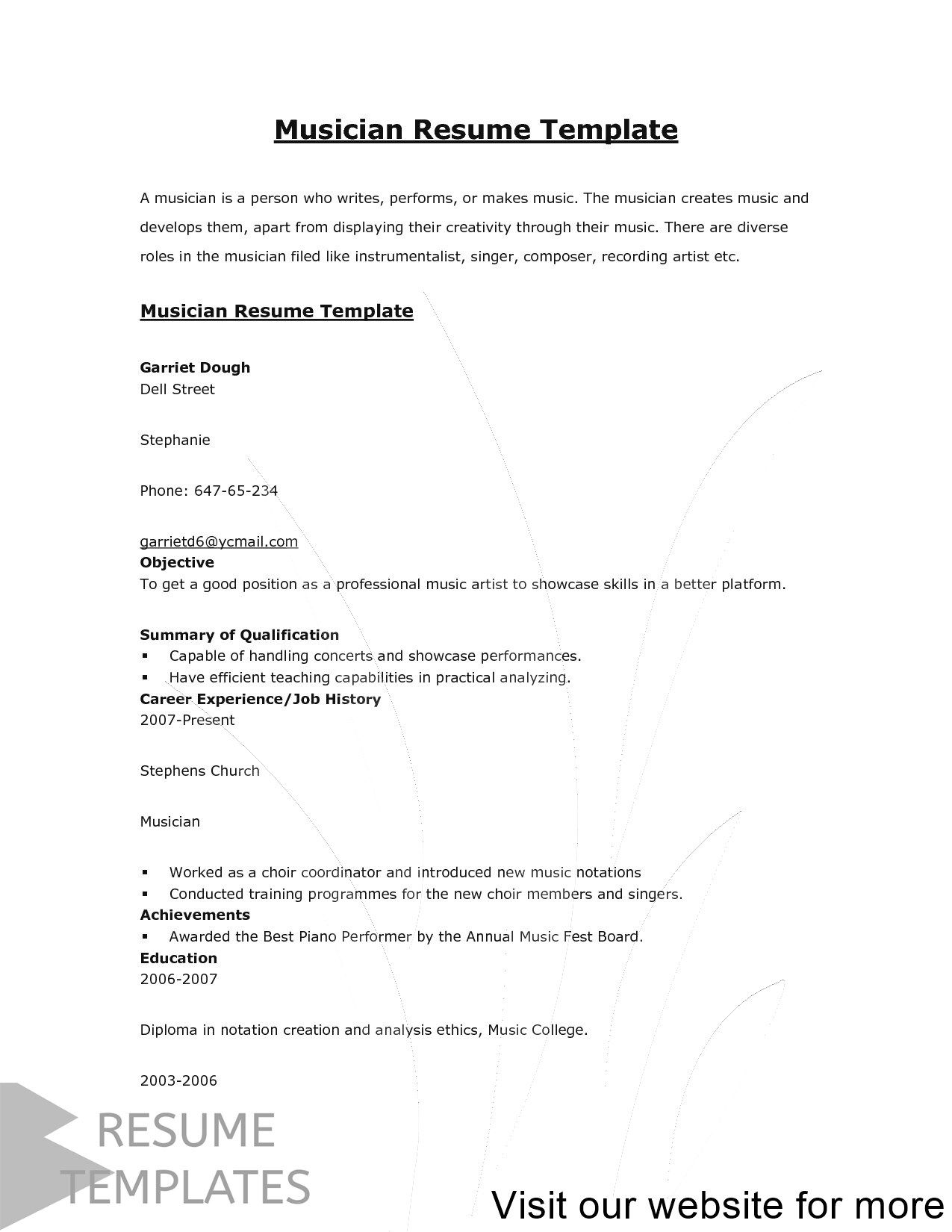 resume template free, resume template professional