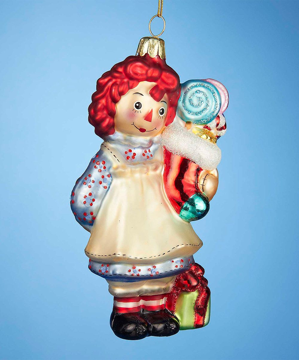 Look At This Raggedy Ann Stocking Ornament On Zulily