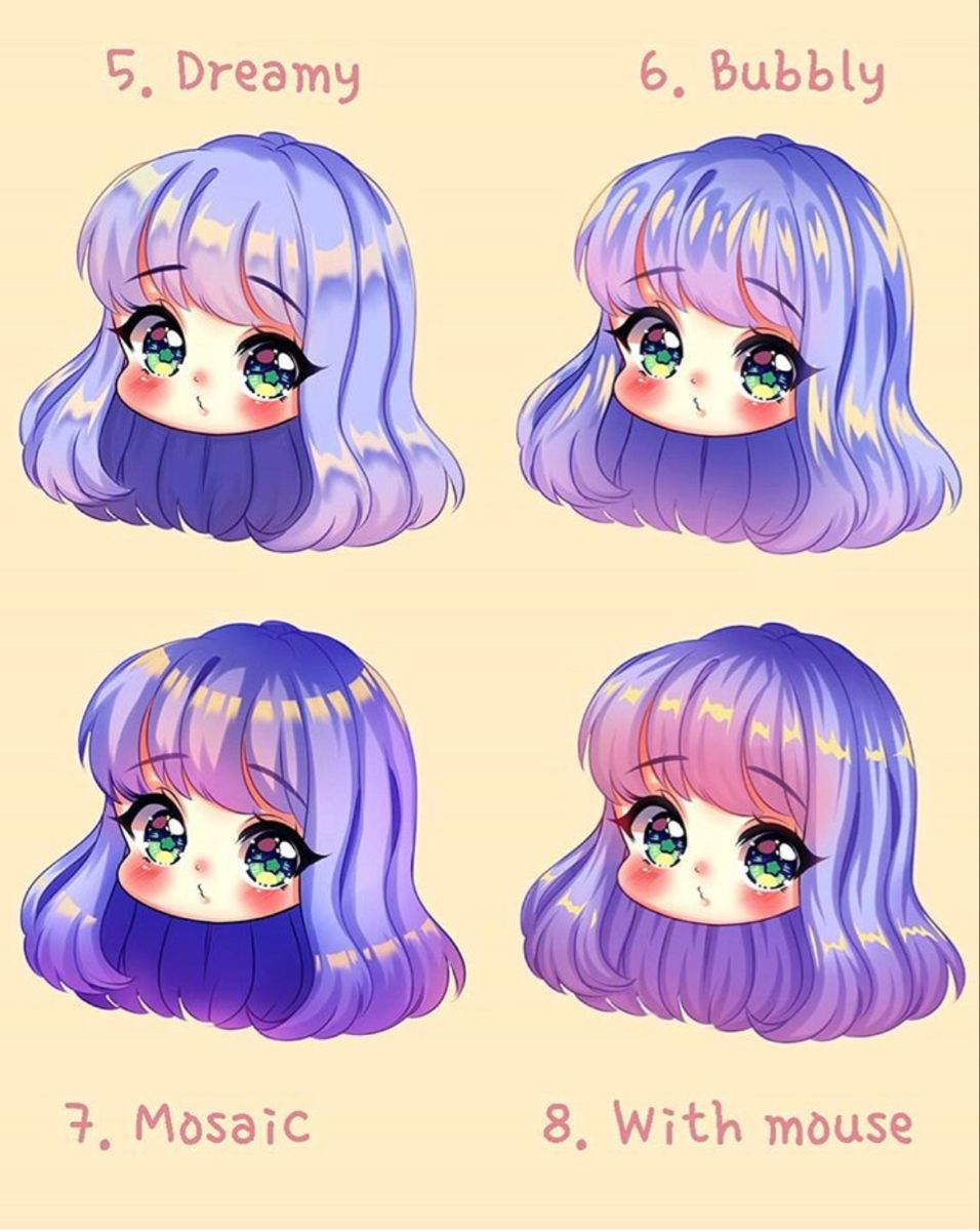 Takymi Hair Coloring Digital Art Anime Anime Art Tutorial Anime Hair Color