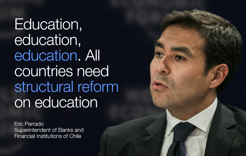 Education, education, education. All countries need structural reform on education  - Eric Parrado