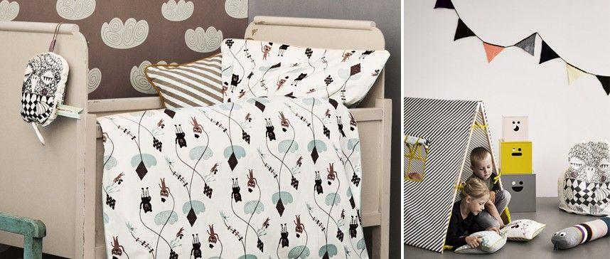 Cojín de algodón orgánico Dog Cushion de ferm LIVING. Ideal para decorar tu hogar. #decoration #decoracion #fermLIVING #cushion #cojin #interiorismo #estiloescandinavo #estilonordico #organicCotton #cotton #algodon #kids #ninos #pillows