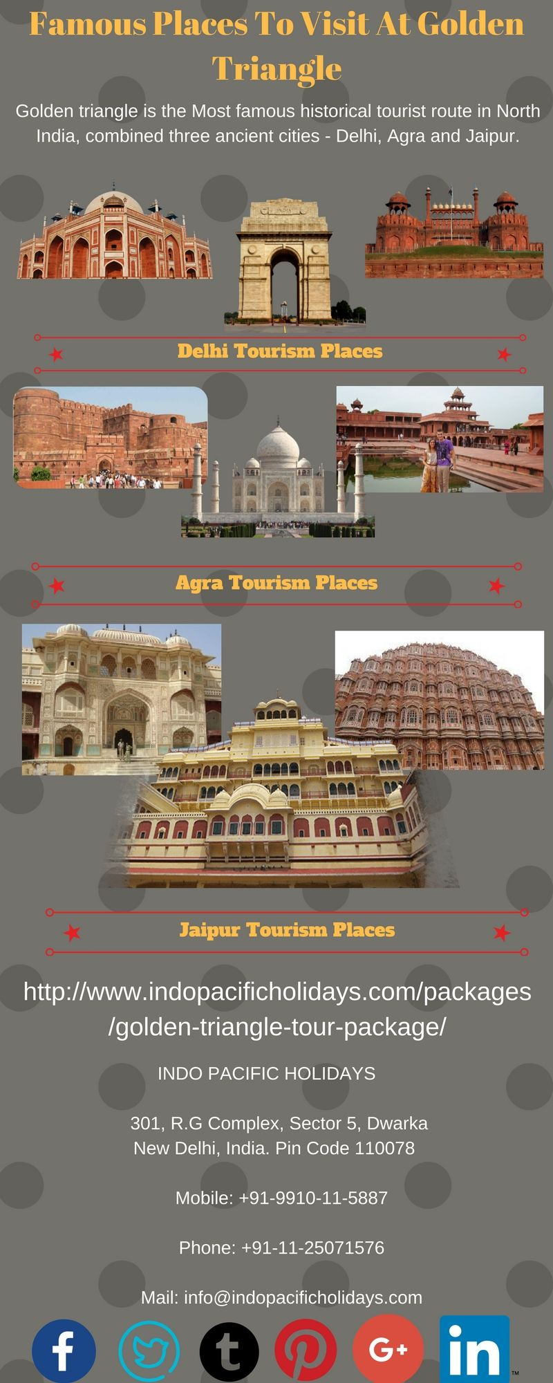 golden triangle tour packages india delhi agra and jaipur holiday