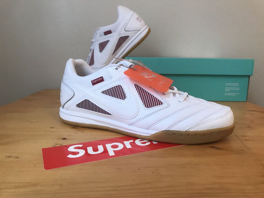 huge sale coupon code the sale of shoes DS Nike SB Gato SUPREME WHITE RED 12 #fashion #clothing ...