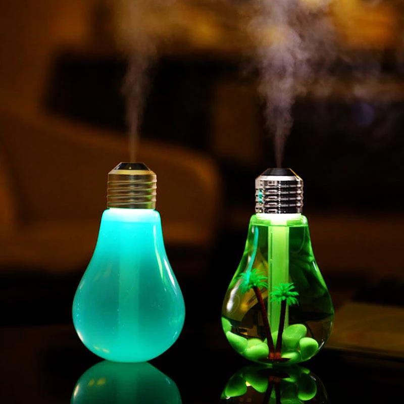 400ml LED Lamp Air Ultrasonic Humidifier