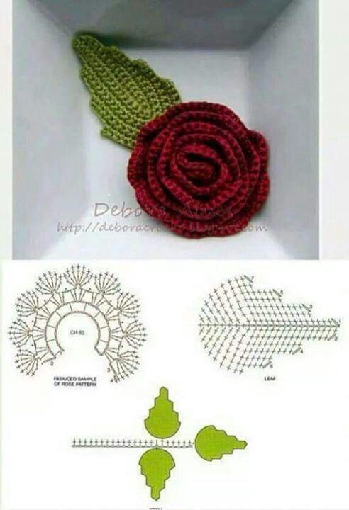 Crochet 2 | flores | Pinterest | Flor, Tejidos de ganchillo y Flores ...