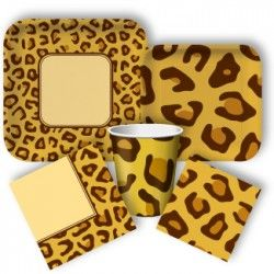 Leopard Print Standard Party Packs