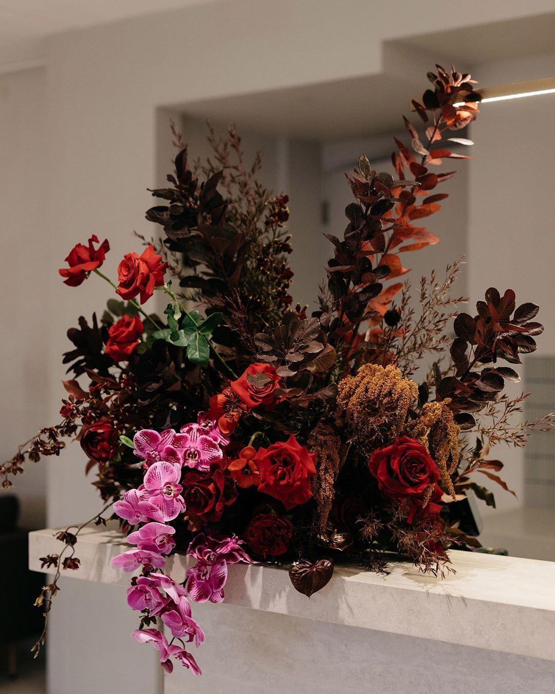 """Nat Schorer on Instagram: """"Bar florals for Carly &"""