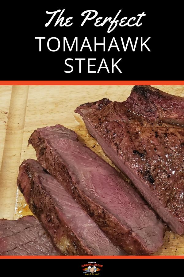 The Perfect Tomahawk Steak Recipe Green Mountain Grill Recipes Recipes Bbq Steak Recipes