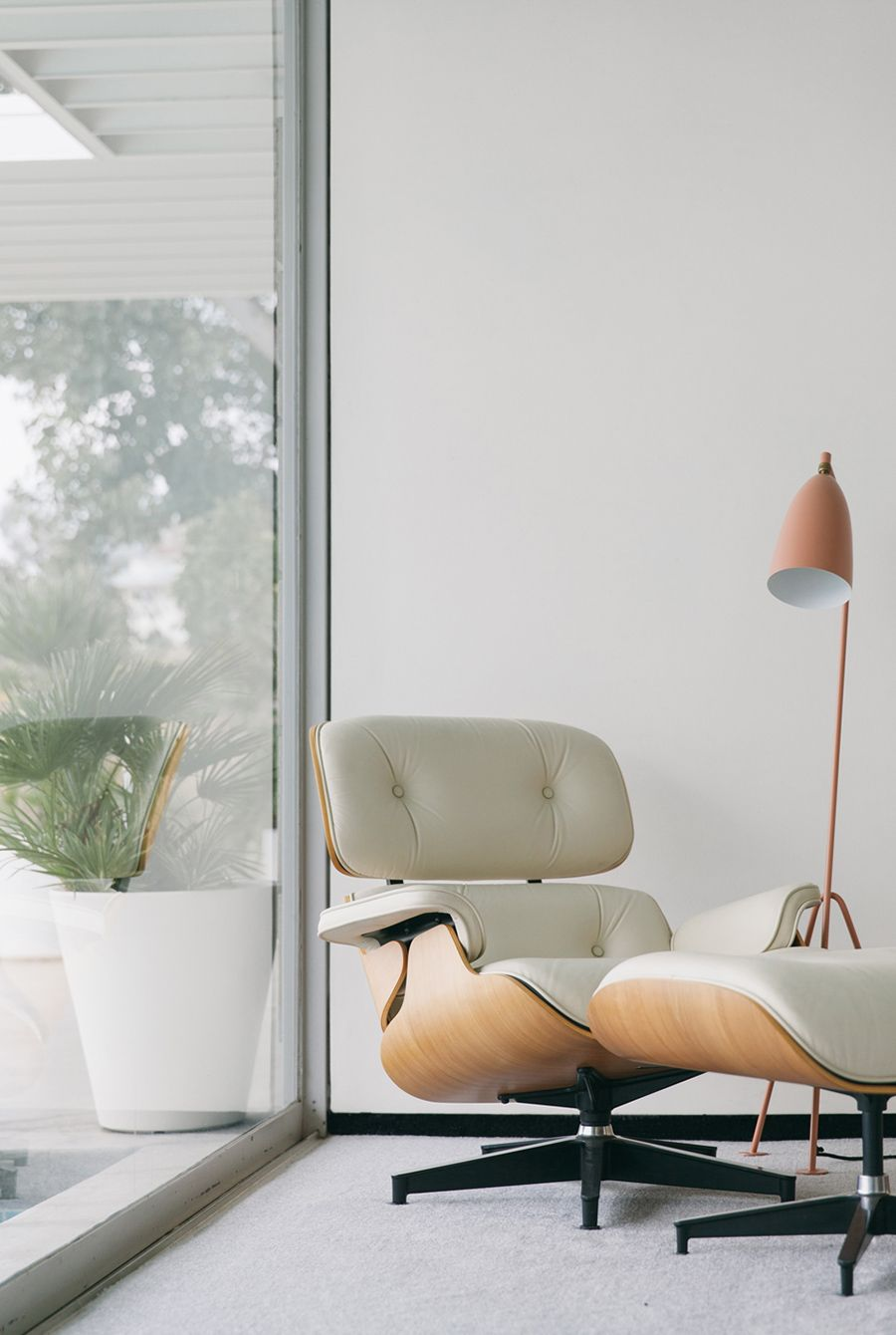 Eames Lounge Chair And Ottoman.
