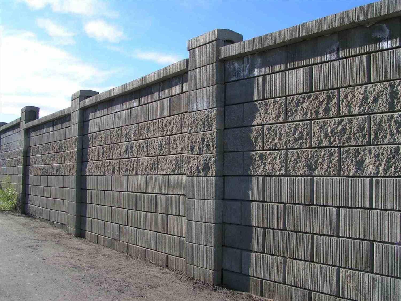 Pierced Brick Wall Pillars And Iron Garden Gate Rhanyaflowcom Awesome Wood Fence Best Gallery Design Ideas Concrete Block Walls Cinder Block Walls Fence Design
