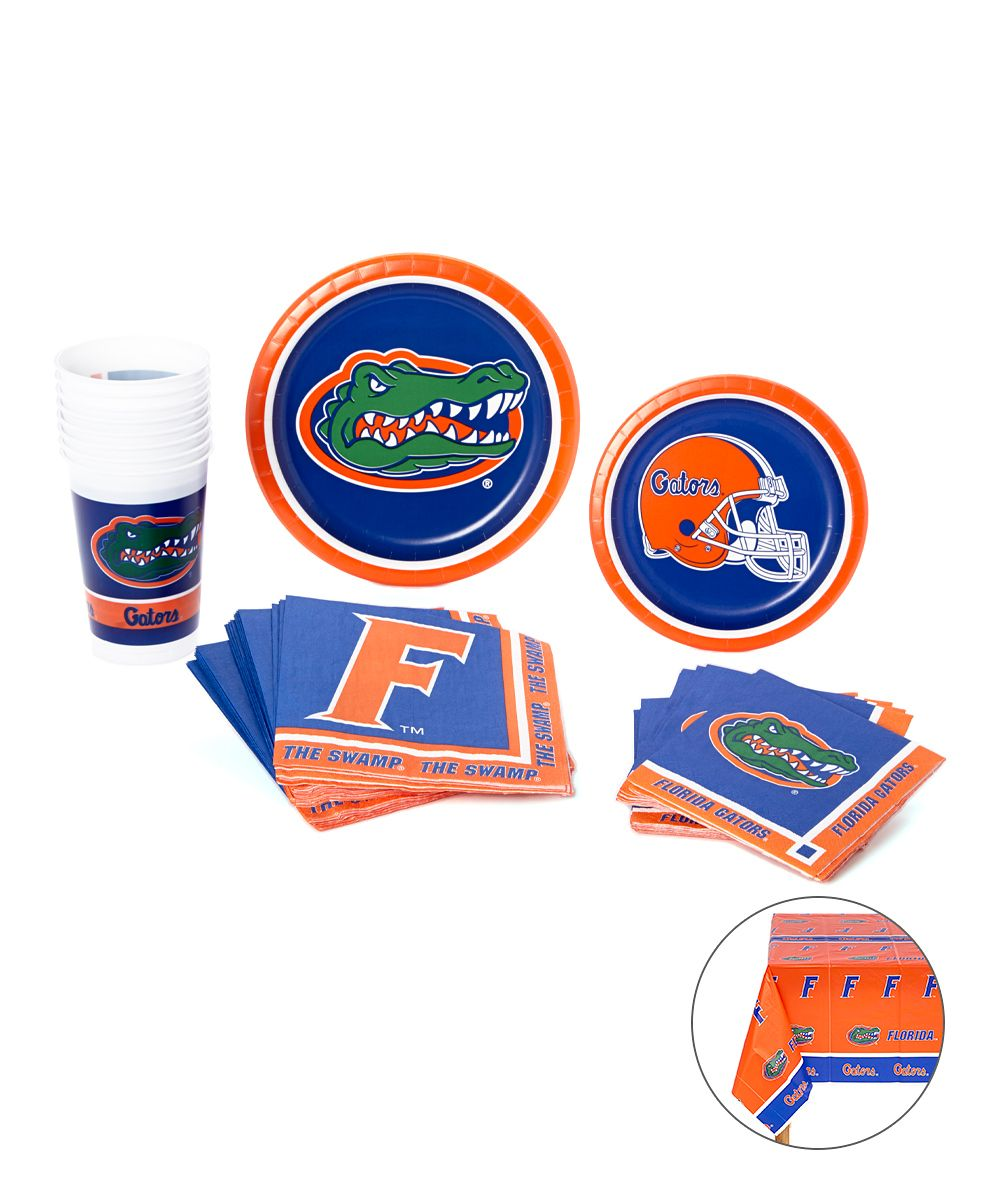 Florida Gators Picnic Party Set