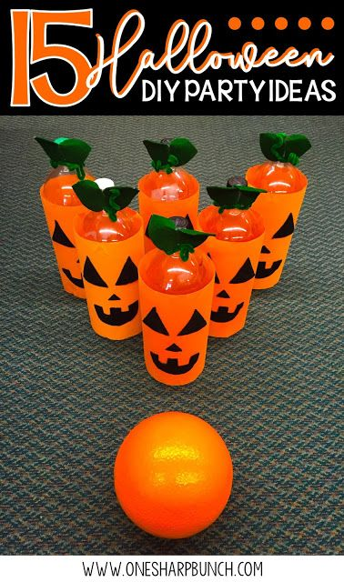 simple diy halloween party ideas for the classroom including halloween games halloween crafts and