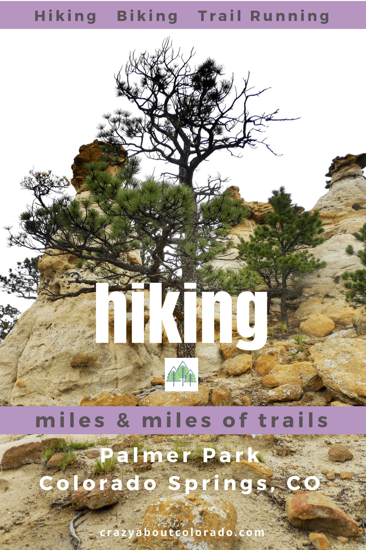 Miles of Rugged Trails in the Heart of Colorado Springs | Pinterest ...