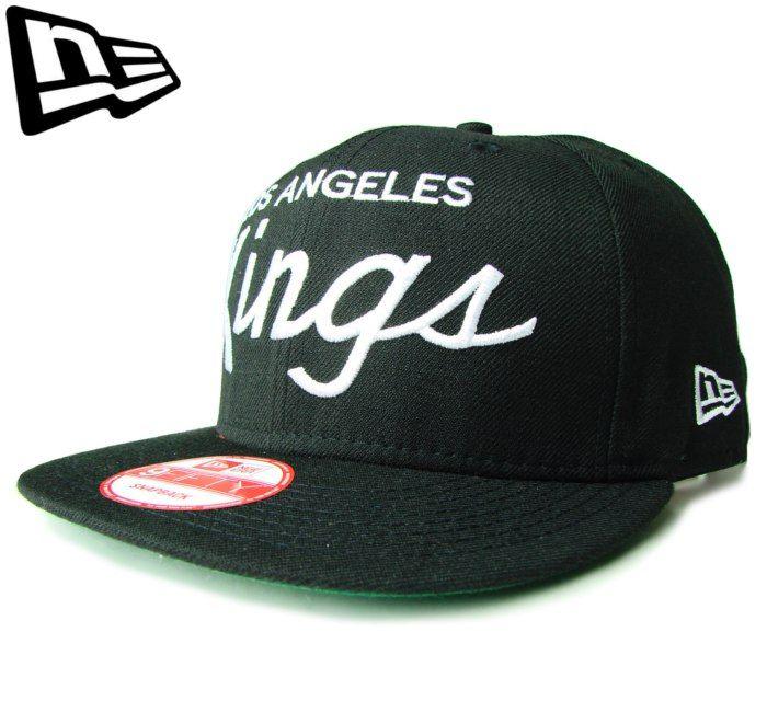 6c6e1610166  ニューエラ  NEW ERA 9FIFTY LOS ANGELES KINGS ロゴ ブラック スナップバック