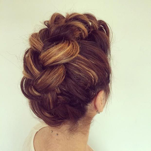 50 Cute And Trendy Updos For Long Hair Updos Instagram And Hair Style