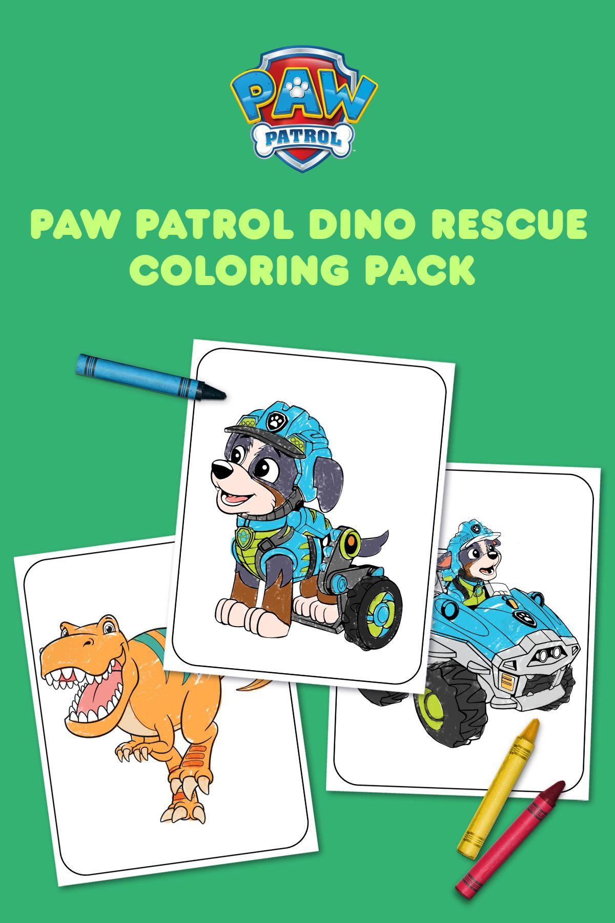 Print This Paw Patrol Dino Rescue Coloring Pack Paw Patrol Coloring Paw Patrol Coloring Pages Paw Patrol [ 1800 x 1200 Pixel ]