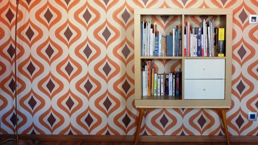 Un meuble étagère années 70 avec KALLAX