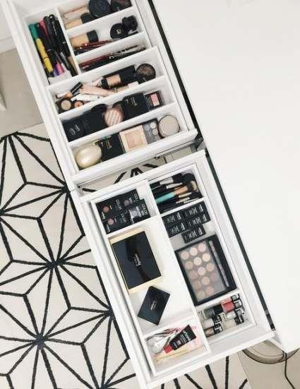 New diy makeup organization vanity to get 50+ Ideas images