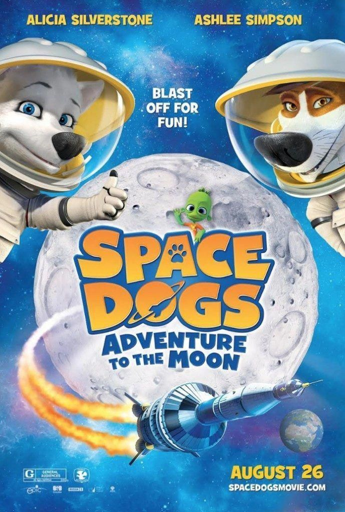 Space Dogs Adventure to the Moon Movie Space dog, Dog
