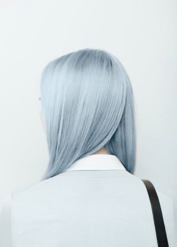 cheveux bleu pastel hairs pinterest cheveux bleu. Black Bedroom Furniture Sets. Home Design Ideas