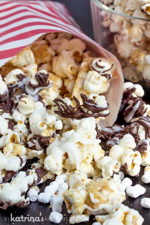 Easy Smores Popcorn Recipe