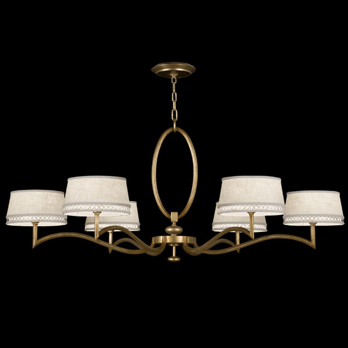 Fine Art Lamps Allegretto Gold 771740 2st Six Light 51 Wide