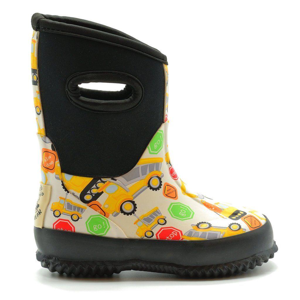Muck Boots OAKI Kids Neoprene Rain Boots Snow Boots