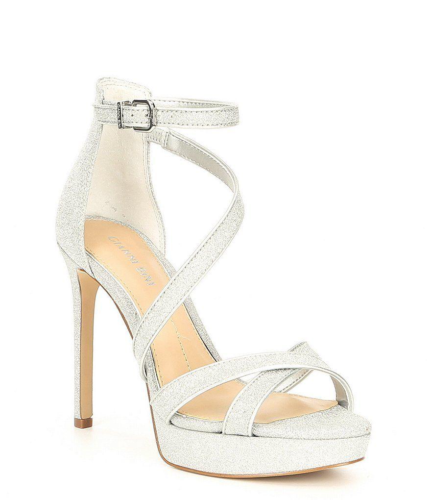 8507d5cf025 Gianni Bini Corielle Glitter Strappy Platform Sandals in 2019 ...