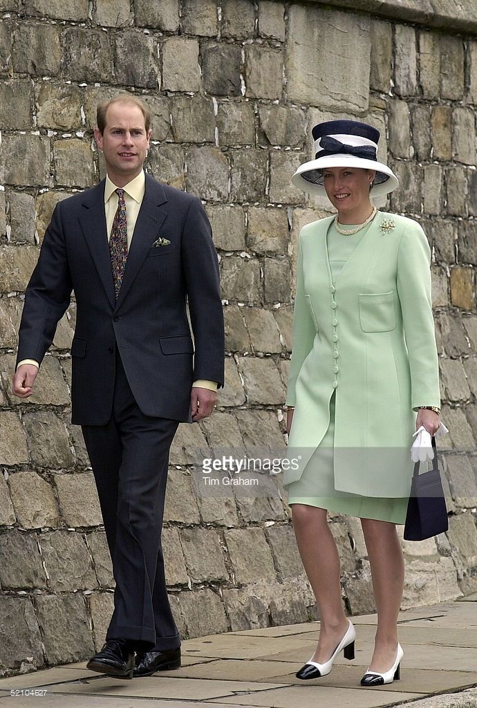 Prince Edward [ Earl Of Wessex ] Arriving With His Wife, Sophie ...