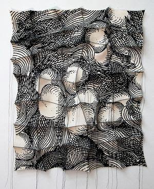 La tela escrita: B&W textile