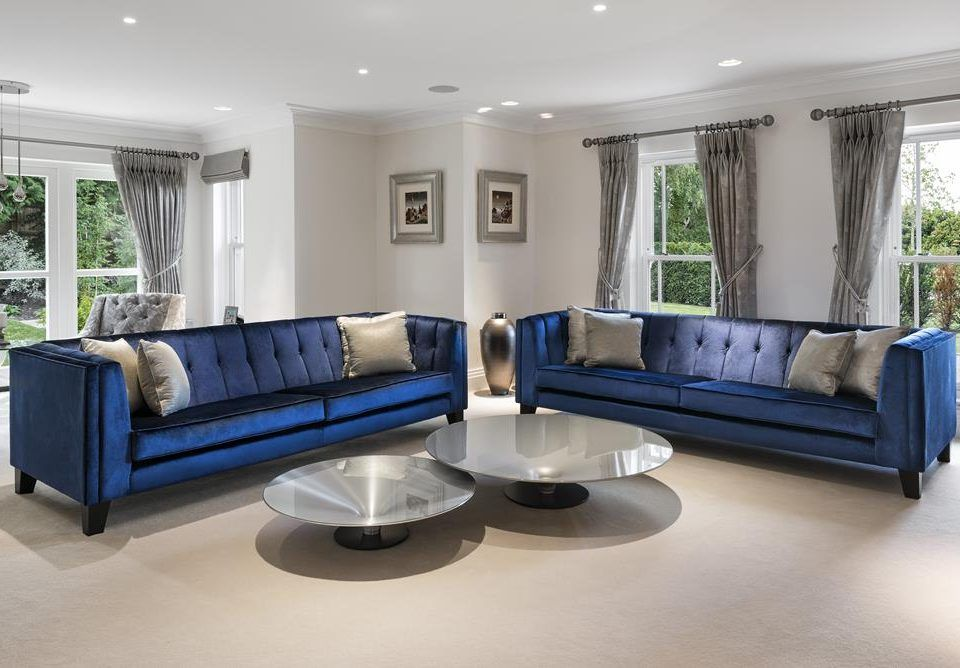 Bespoke Sofas Hertfordshire Bespoke Sofa Essex London Bespoke Sofa Manufactu Blue Furniture Living Room Luxury Furniture Living Room Blue Living Room Decor