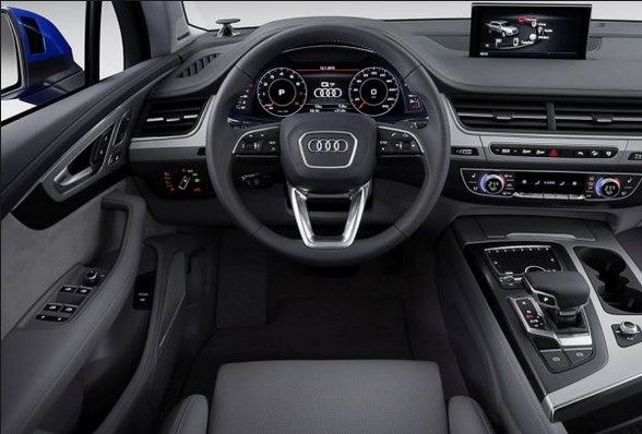 2016 Audi Q7 e-Tron Interior | Best Car Audi | Pinterest | Audi q7 ...