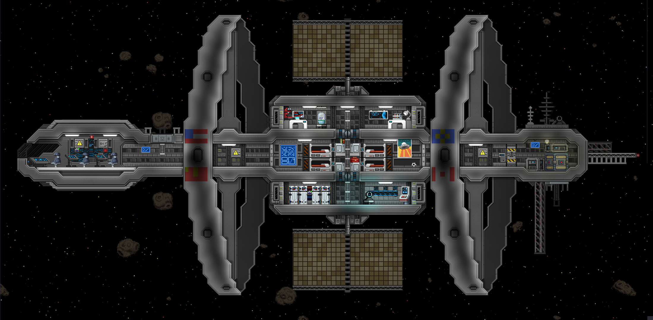 Wondrous Space Station Terraria And Starbound Terrarium Space Station Space Wiring Digital Resources Antuskbiperorg