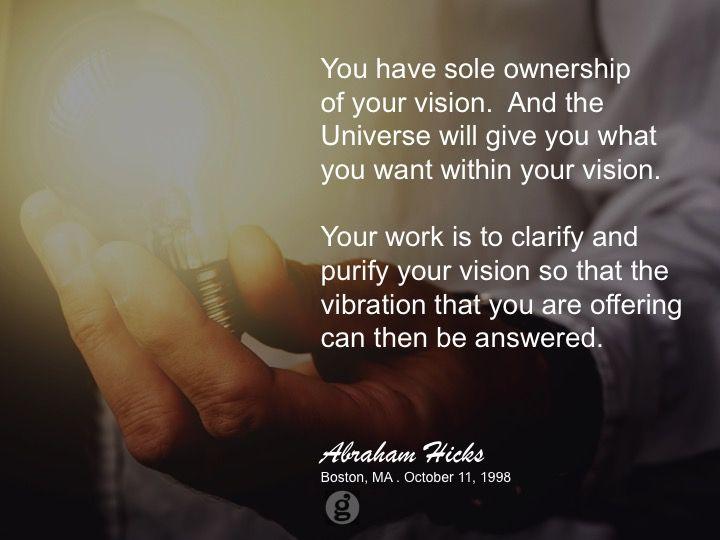 #abrahamhicks #vibrations #ownership